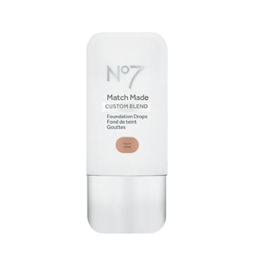 No7 Match Made Foundation Drops Warm Wheat