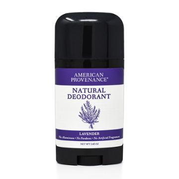American Provenance Lavender Aluminum-free Natural Deodorant