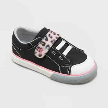 Toddler Girls' See Kai Run Basics Monterery Ii Lace-up Apparel Sneakers - Black