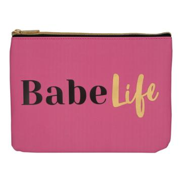 Ruby+cash Faux Leather Makeup Bag & Organizer - Babe