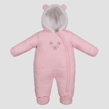 Baby Girls' Bear Snowsuit - Just One You Made By Carter's Pink Light Pink Newborn, Girl's