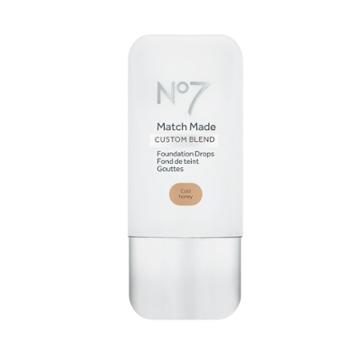 No7 Match Made Foundation Drops Cool Honey