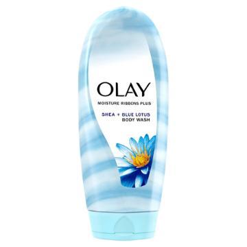 Olay Moisture Ribbons Plus Shea + Blue Lotus Body Wash - 18 Fl Oz, Women's