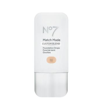 No7 Match Made Foundation Drops Warm Beige