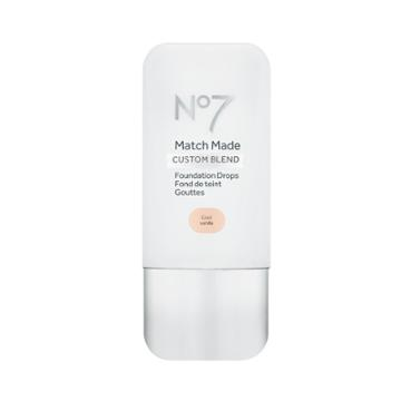 No7 Match Made Foundation Drops Cool Vanilla