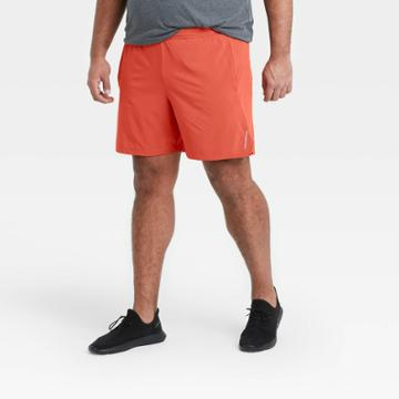 All In Motion Men's 7 Unlined Run Shorts - All In