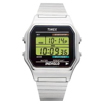 Men's Timex Classic Digital Expansion Band Watch - Silver T785879j,