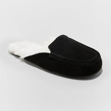 Women's Shae Moccasin Mule Slippers - Stars Above Black