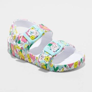 Toddler Girls' Ade Footbed Sandals - Cat & Jack 6,