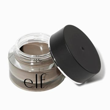 E.l.f. Lock On Liner And Brow Cream Medium Brown - .19oz, Adult Unisex