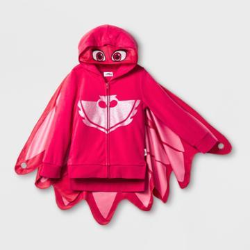 Girls' Pj Masks Owlette Sweatshirt - Red