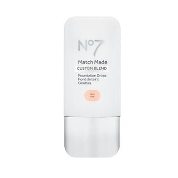 No7 Match Made Foundation Drops Cool Rose - .5oz