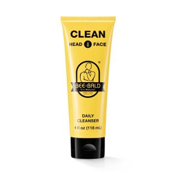 Bee Bald Clean Head And Face Daily Cleanser - 4 Fl Oz,