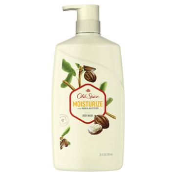 Old Spice Moisturize With Shea Butter Body Wash