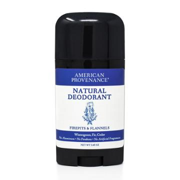 American Provenance Firepits & Flannels Aluminum-free Natural Deodorant