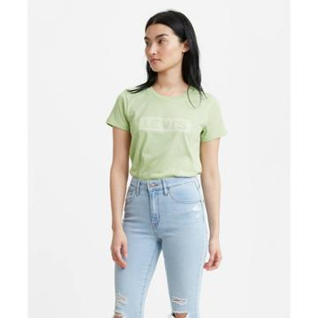 Petitelevi's Women's Perfect Graphic Short Sleeve T-shirt - Green