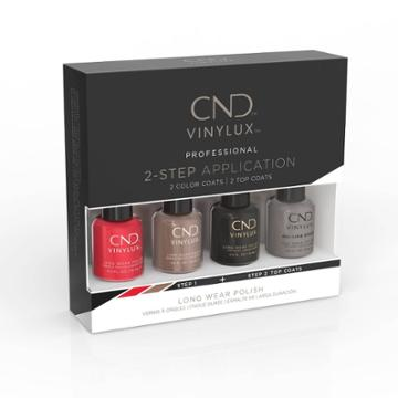 Cnd Vinylux Best Seller Nail Polish Set Classic Pinkie Pack Pink/red