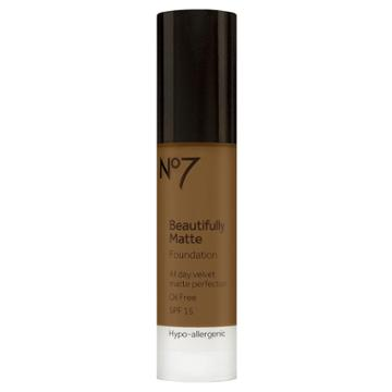 No7 Beautifully Matte Foundation Spf 15 - Chestnut (brown)