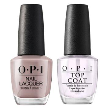 Opi Nail Laquer Berlin There Done That/top Coat - 2pk, Adult Unisex