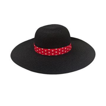 Minnie Mouse Floppy Hat - Black, Women's