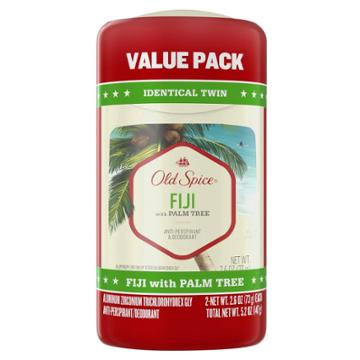 Old Spice Invisible Solid Antiperspirant & Deodorant For Men Fiji With Palm Tree Scent Inspired By Nature