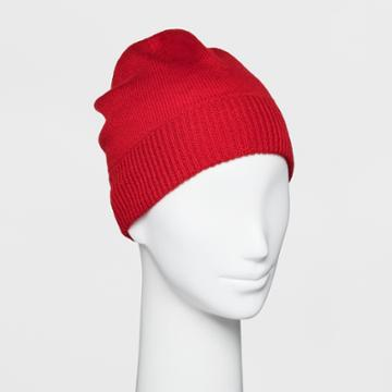 Women's Cashmere Beanie - A New Day Red