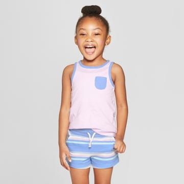 Toddler Girls' Tank Top - Cat & Jack Purple