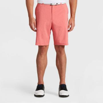 Men's Jack Nicklaus Golf Shorts - Heather Coral 30, Men's, Grey Pink