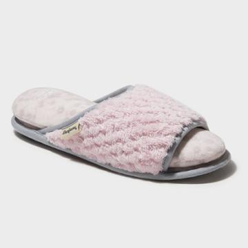 Women's Dearfoams Cloud Step Slide Slippers - Pink