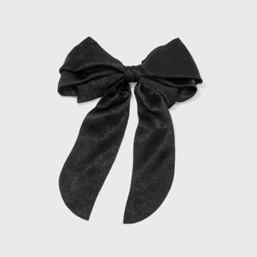 Bow Barette Tail Twister - A New Day Black