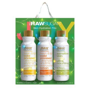Raw Sugar Body Lotion Trio