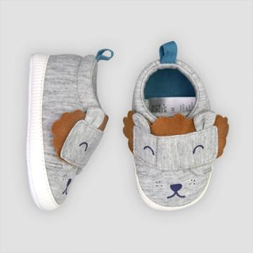 Baby Boys' Lion Sneaker 0-3m - Just One You Made By Carter's Gray, Boy's,