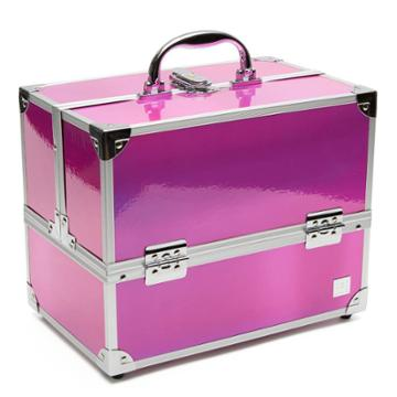 Caboodles Medium Train Cosmetic Case - Pink