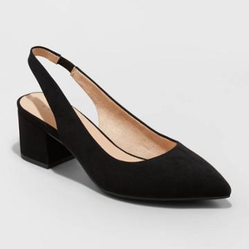 Women's Nina Heels - A New Day Black
