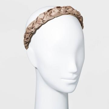 Braid Headband - A New Day Tan