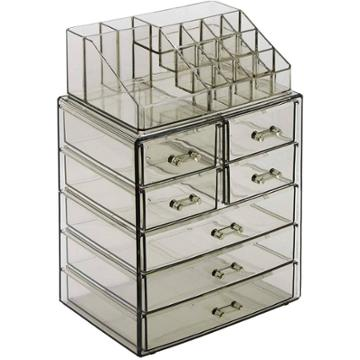 Sorbus Cosmetic Makeup And Jewelry Case Organizer - Style