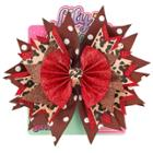 Lily Frilly Hair Bow -