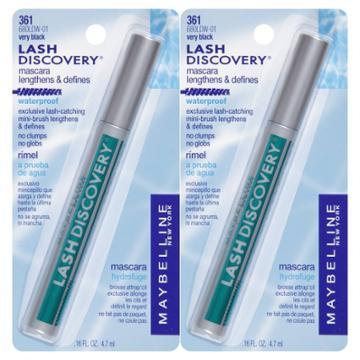 Maybelline Lash Discovery Mascara Very Black