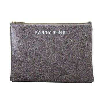 Ruby+cash Glitter Party Time Makeup Pouch -