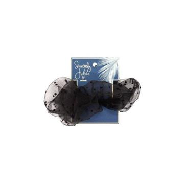 Sincerely Jules By Scunci Extra Large Organza Scrunchie - Black