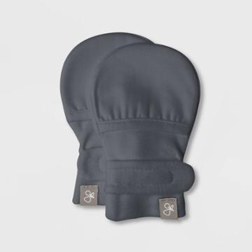Goumikids Goumi Baby Mittens - Gray One Size, Kids Unisex