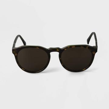 Men's Acetate Round Sunglasses - Goodfellow & Co Green