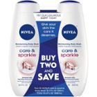Nivea Care & Sparkle Body Wash Dual Pack