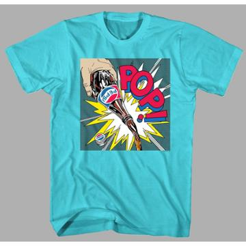 Men's Pepsi Short Sleeve Graphic T-shirt - Blue S, Men's,