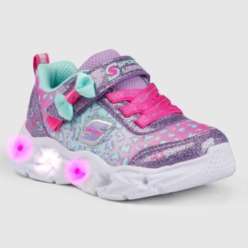 Toddler Girls' S Sport By Skechers Olivia Light-up Sneakers - Lavender