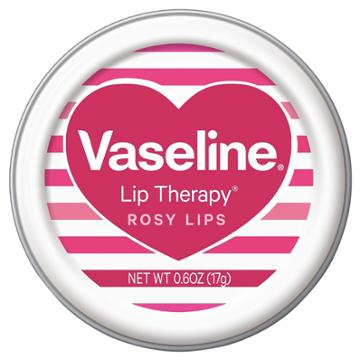 Vaseline Rosy Lip Therapy Valentines 0.6 Oz, Lip Balms & Treatments