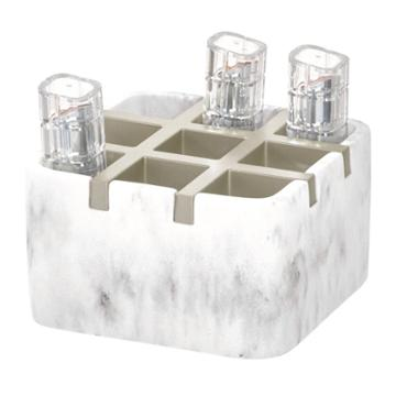 Dakota Cosmetic Organizer White - Idesign