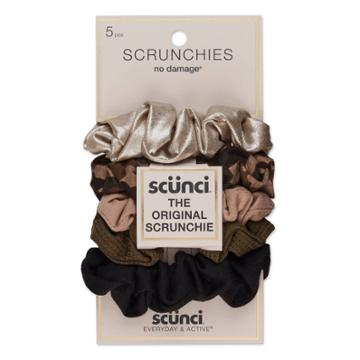 Conair Scunci Everyday & Active No Damage Scrunchies