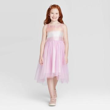 Girls' Sparkle Ombre Dress - Cat & Jack Purple