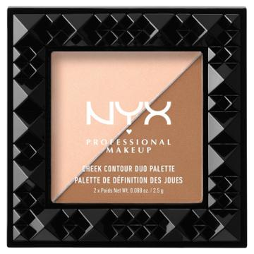 Nyx Professional Makeup Cheek Contour Duo Palette Cheek On Cheek